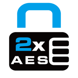 2x AES-128,2 xAES-256 encryption