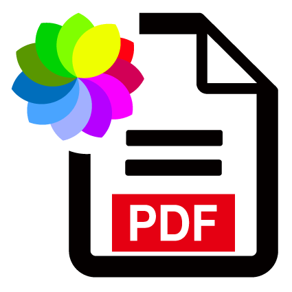 PDF color optically