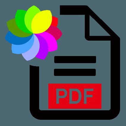 PDF color optically