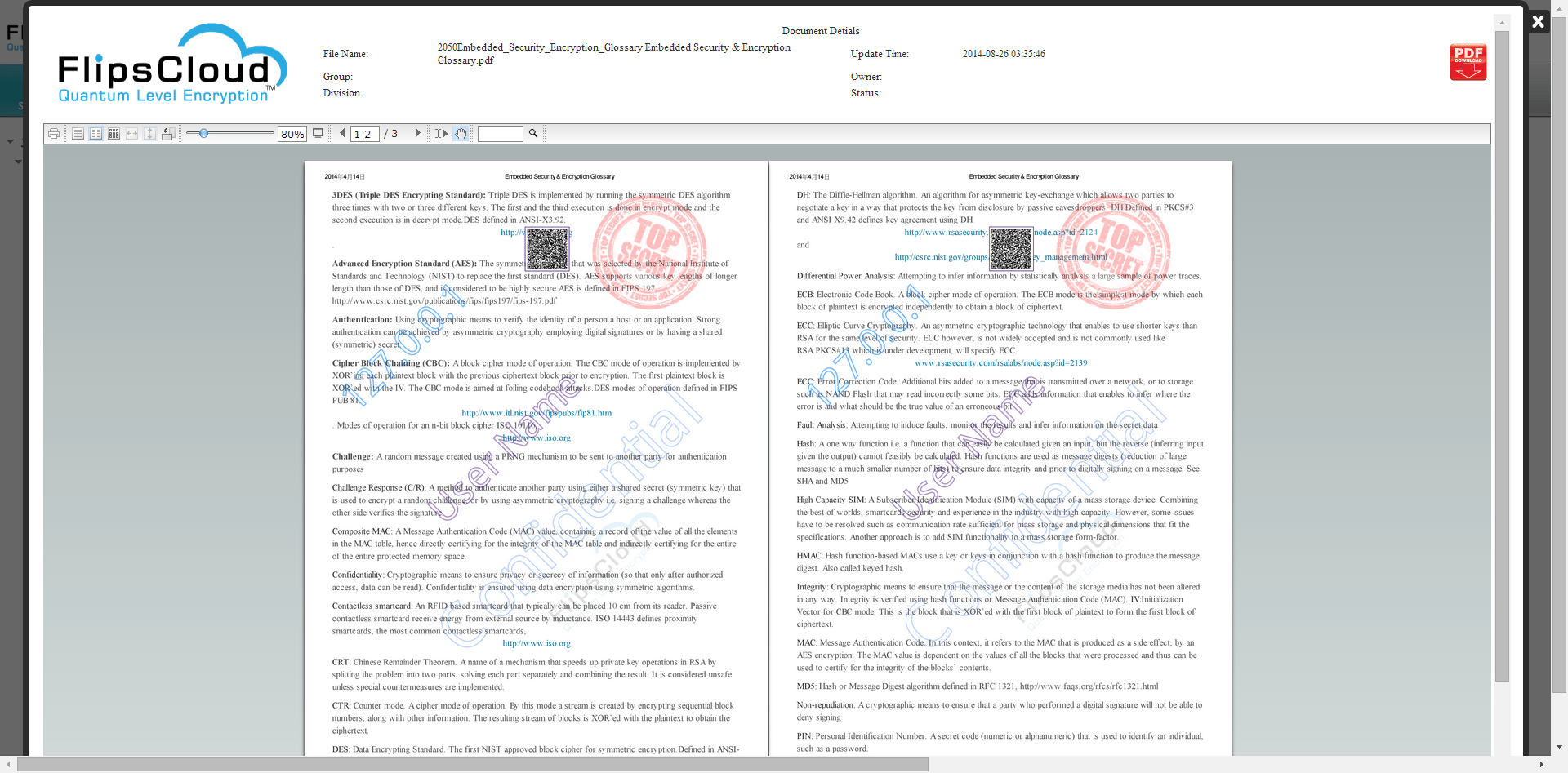 Document online viewer